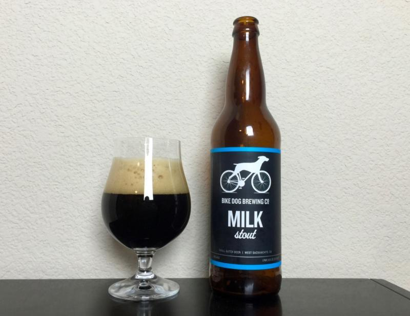 Bike Dog Milk Stout
