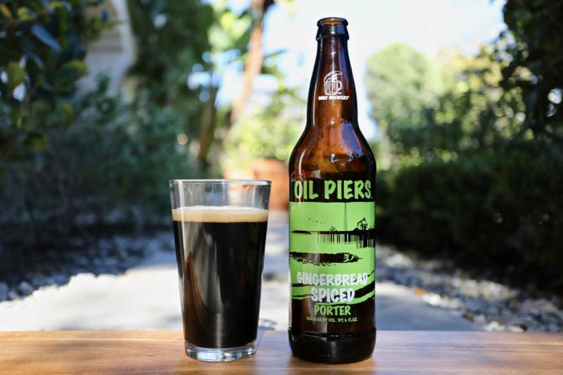 Oil Piers Gingerbread Spiced Porter