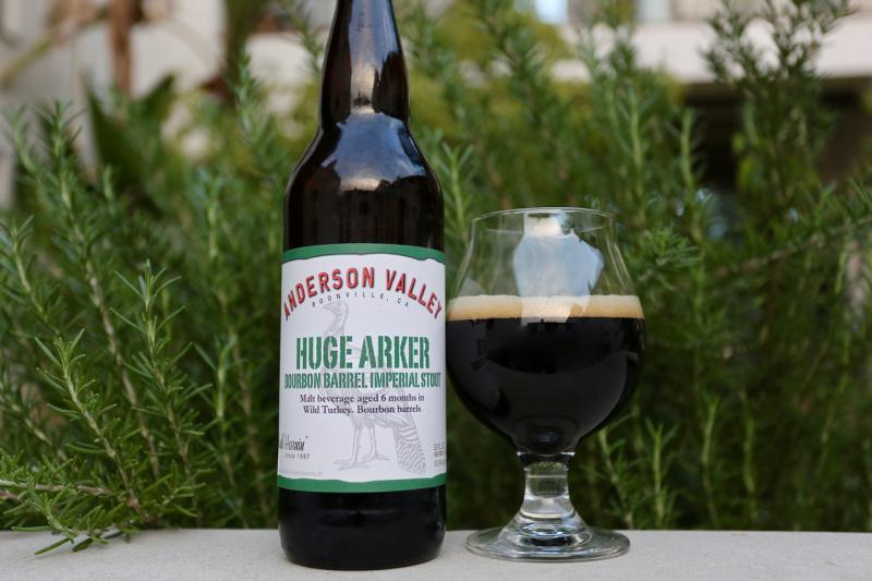 Huge Arker Bourbon Barrel Imperial Stout
