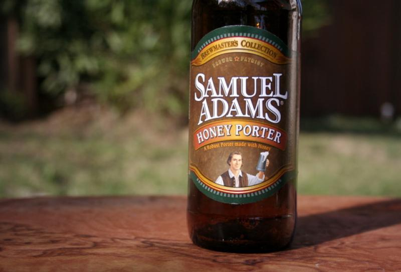 Sam Adams Honey Porter