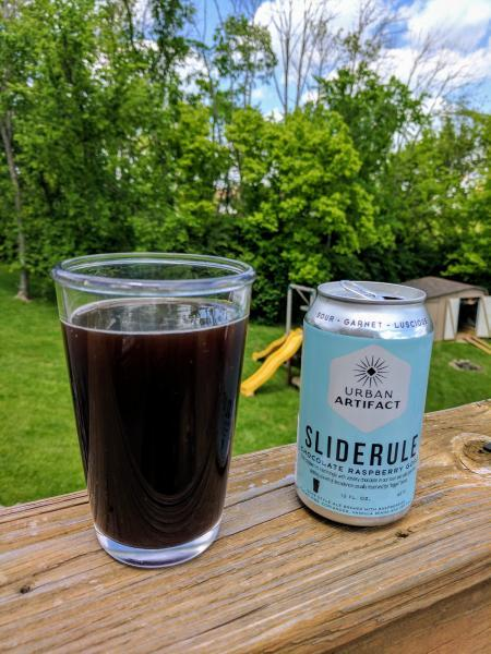 Slide Rule Chocolate Raspberry Gose